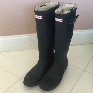 Hunter Men's Original Side Adjustable Rain Boots